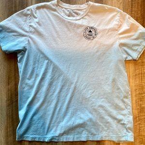 Burton blue tie dye Tshirt